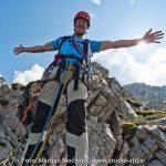 Monte Zermula, Via Meledes - vrnitev