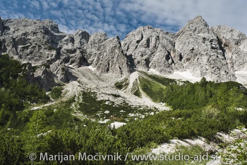Karnija (Plöcken pass) in Logarska dolina – uvod v skupne ture