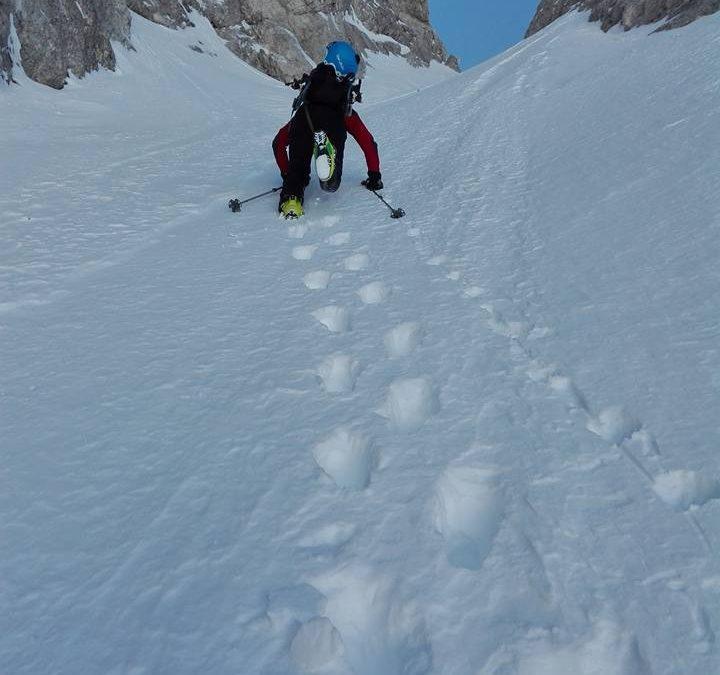 Ledinski vrh, Sestopna grapa v Križu