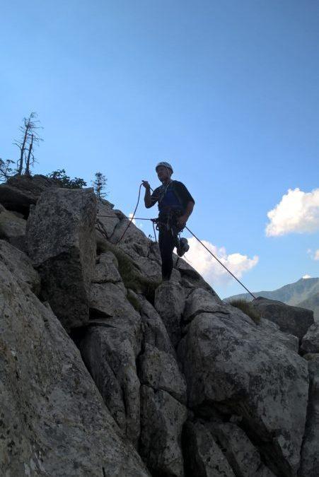 Spet nad Passo di Monte Croce…
