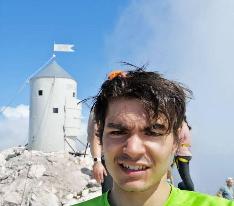 Dolga Nemška z vrhom Triglava