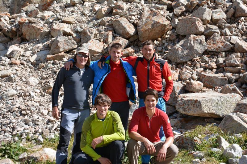 Alpinistična odprava Kirgizija 2014