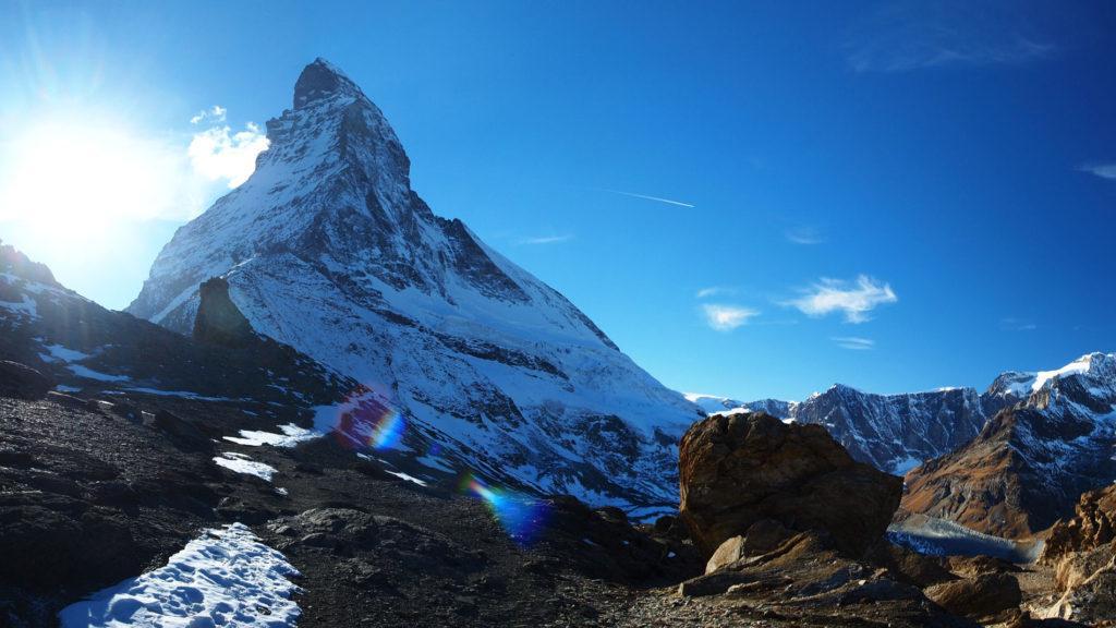 Matterhorn, Schmidt solo