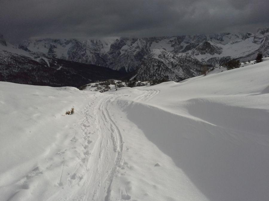 Monte Piana 2324 m, mizurinski Krn v dolomitih