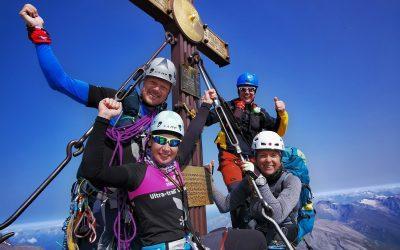 VELIKI KLEK (3798 m) čez greben STUDLGART